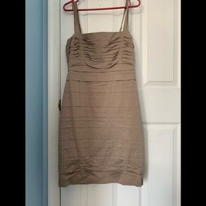 BCBG Max Azria Tan Dress
